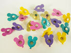 Scrapbooking Eyelets 12 Mouse Ear Balloons 4 Colors Vacation Paper Art Cards