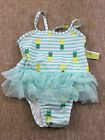 infant baby girls CIRCO one piece swim suit NEW size 6 9 months NWT pineapples