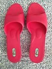 NEW OKA BEE Womens Open Toe Sandals Pink Size Large Made in USA