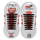 Silicone No Tie Shoelace Elastic Shoe Strap Fit All Sneaker Unisex Adult 13