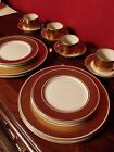Vintage Floyd and Fitz Gold Rondelet 16 piece set