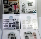Close to My Heart Stamp Lot  3 Mixed Lot of 6 CTMH stamp sets