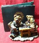 Boyd's Bears Bearstone Collection Grenville w/ Matthew And Billy #2281