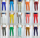 MEN Jeans Slim STRETCH FIT SLIM FIT Trousers Casual Pants SKINNY Hip Hop Dance