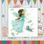 Sheet DIY Crafts Wings Girl Silicone Rubber Transparent Stamps Scrapbooking