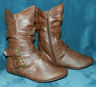BRAND NEW PAIR OF FOREVER BRAND BROWN BOOTS BOOTIES SIZE 9