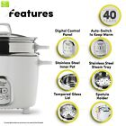 Aroma Housewares NutriWare 14-Cup (Cooked) Digital Rice Cooker and Food Steamer,