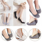 Lace Invisible Socks Women Girls No Show Liner Low Cut Feet Boat Hidden Non Slip
