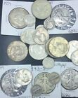 Vintage Coin Collection of 1 silver half quarter 2 dimes and much much more