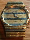 Raymond Weil Vintage Ladies Watch 18k Gold Plated Untested