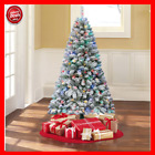 Pre Lit 6 Artificial Christmas Tree LED Multicolor Lights and Stand