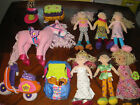 Lot of Huge Groovy Girls * 6 Dolls * Furniture * Scooter * Horse * Lamp