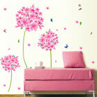 Flowers Butterflies Wall Sticker Decal Home Room Removable Art Mural DIY Deco