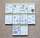 Stampin Up Cling Mount LARGE LOT Phrases London Birthday RETIRED SETS