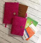 Weight Watchers 2017 Journal Large  Pocket Guide Covers Set of 2 48 Fabrics
