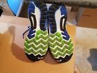 MENS SAUCONY GUIDE 9 EVERUN RUNNING SHOES BLUE SIZE 12 WIDE