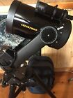 Celestron Celstar 8 2000mm f 10 Telescope with tripod mount and lenses