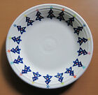 Fiesta Fiestaware Christmas Tree White Dinner 10.25 inch Plate May Co 1998 LE