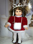 Vintage Gotz Puppel Christmas Doll Original Clothes- Shoes 15 tall Made Germany
