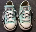 CONVERSE All Star Shoes BLUE Baby Toddler Boys Girls Size 8