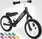 Cruzee UltraLite Balance Bike 44 lbs for Ages 15 to 5 Years Black