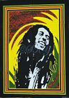INDIAN Wall Hanging BOB MARLEY Batik Tapestry Decorative Ethnic Vintage Art W15l