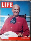 Vintage LIFE MAGAZINE 1955, November 14, Clark Griffith's pitching Presidents