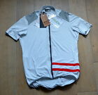 new CSW Campagnolo Heritage Long Zip Jersey size XL red strips