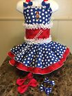 National Pageant Minnie Mouse Casual Wear Dress Back To School Wear 18mos 3t OOC
