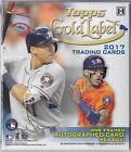 2017 Topps Gold Label Baseball Hobby Box Factory Sealed Aaron Judge Jeter Auto??