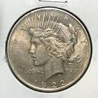 1922 P Toned Peace Silver Dollar ItemM1118