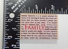 Hero Arts Family Rubber Stamp C3001