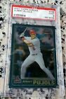 ALBERT PUJOLS 2001 Topps Chrome Rookie Card RC PSA 9 MINT 2 WS Rings 656 HRs