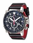 DETOMASO BOTTONE Mens Chronograph XL Watch with Tachymeter Stainless Steel Ca...