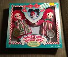 1996 Raggedy Ann & Andy 80th & 75th Anniversary Dolls With Exclusive Mini Doll