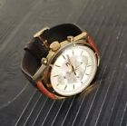 Tommy hilfiger Watch TH.247.1.34.1836 SOLID STAINLESS STEEL / Leather. FAST FREE