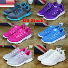 US Womens Sport Sneakers Running Shoes Athletic Breathable Casual Running Shoes