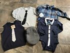 Baby Boys Baby Gap Crazy 8 Carters Lot Faux Tie 12 18 24 Months