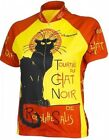 Chat Noir Womens Cycling Jersey by Retro NWT