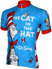 Dr Seuss Cat in the Hat Cycling Jersey by Retro Size XXXL