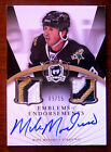 2007-08 MIKE MODANO THE CUP EMBLEMS OF EMDORSEMENTS DUAL 4 CLR PATCH
