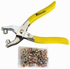 Grommet Pliers with Qty 100, 3/16