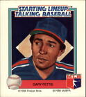 1988 Starting Lineup Angels Baseball Card #16 Gary Pettis