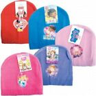 Baby girl / Toddler 5 x lightweight beanies / caps minnie peppa pig disney sofia
