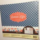 Recollections Scrapbook Album Kit Sweet Life 10 Pages 12x12 Expandable Postbound