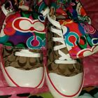 Coach Poppy High Top Sneakers size 9