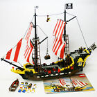 Vintage 1989 LEGO 6285 pirate ship Legoland Black Seas Barracuda 99% complete