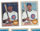 2017 Topps Heritage lot #424 Addison Russell, Chicago Cubs regular