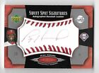 RYAN HOWARD 2005 Upper Deck Sweet Spot Signatures red auto red stitch 35