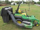 John Deere Z920A commercial zero turn mower with 54 deck and bagger